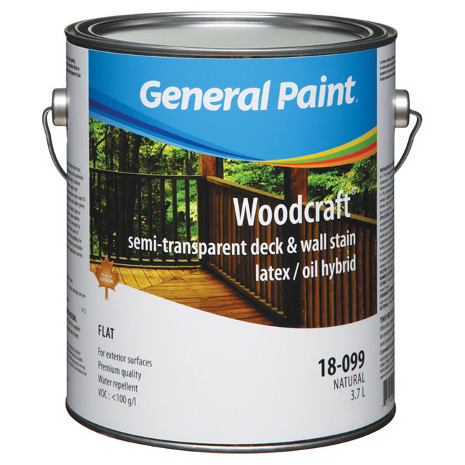 General paint stain semi transparent finish exterior alkyd stain l r no d p t - Exterior alkyd paint decoration ...