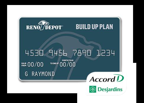 Carte Rona Accord D.Reno Depot Air Miles Reward Program