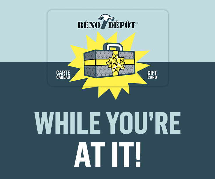 Buy Your Réno Dépôt Gift Cards Réno Dépôt