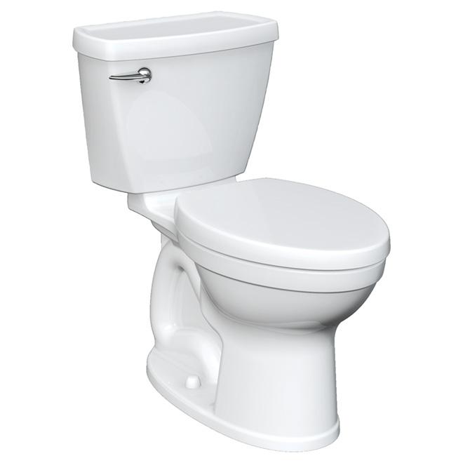 american standard toilette 2 pi ces cuve allong e champion 4 8 l blanc r no d p t. Black Bedroom Furniture Sets. Home Design Ideas