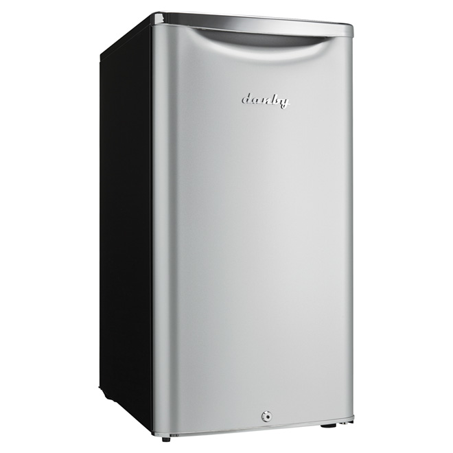 Compact Refrigerator - 3.3 cu.ft. - Silver