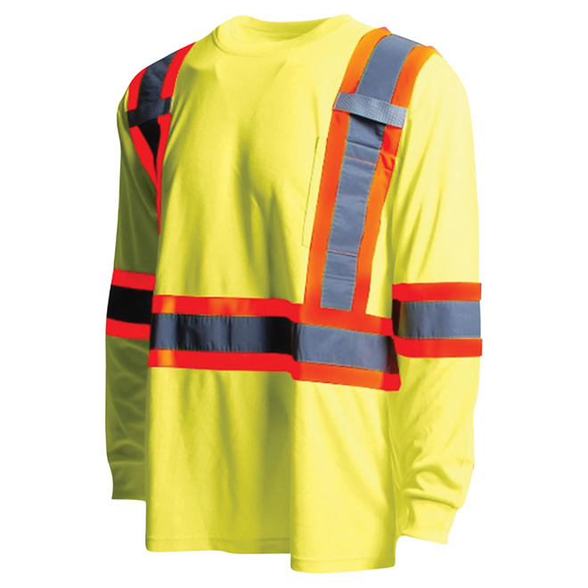 High Visibility Short Sleeve Shirt - 2XL - Yellow