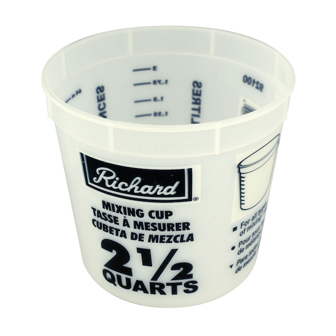 Paint Mixing Cup - 2.36 L