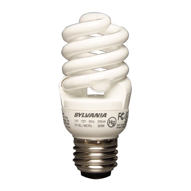 13-W compact fluorescent