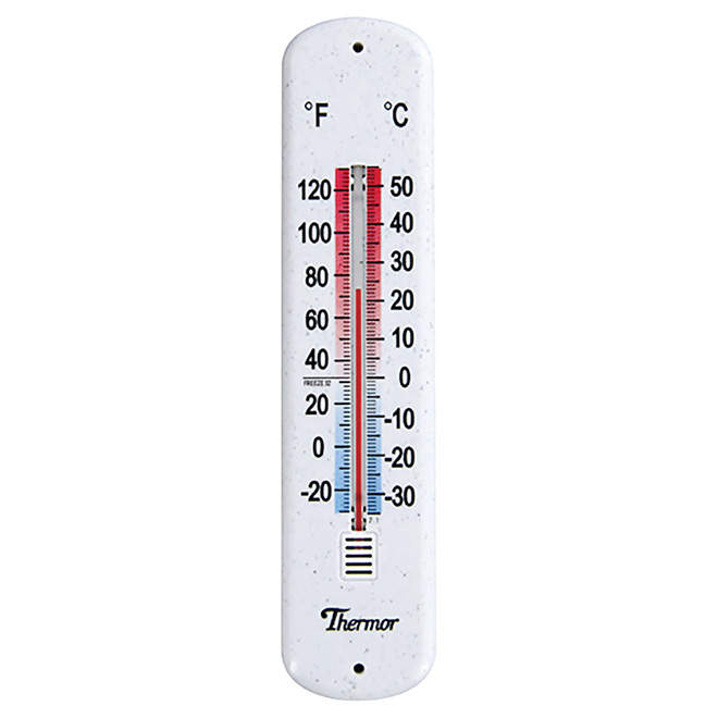Indoor and Outdoor Wall Thermometer