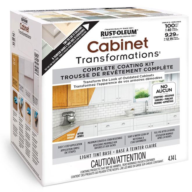 Rust Oleum Cabinet Refinishing System R 233 No D 233 P 244 T
