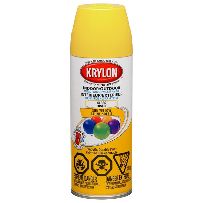 Krylon - Peinture Aérosol Intérieur/Extérieur | Réno-Dépôt