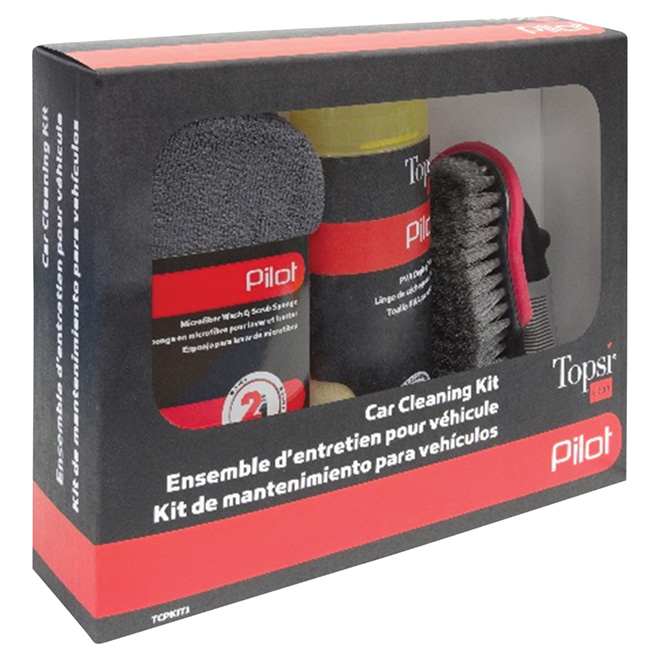 Car Cleaning Kit - 3-Piece