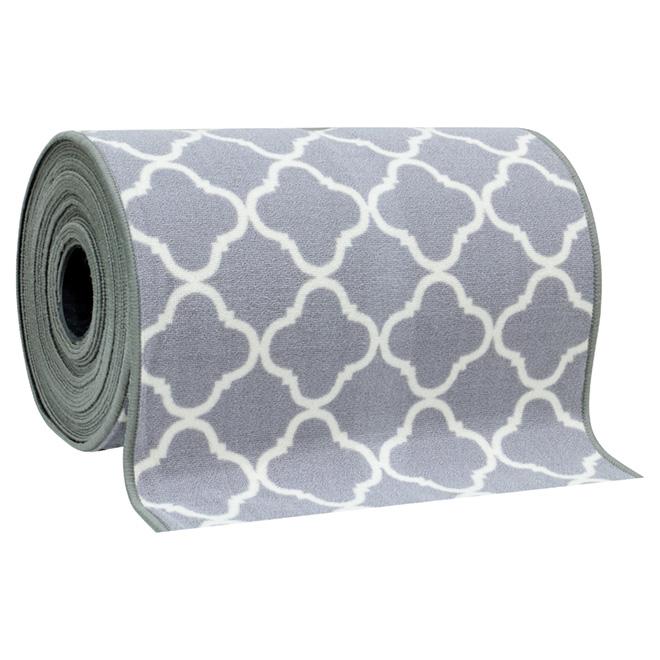 tapis de passage shiitake 26 gris r no d p t. Black Bedroom Furniture Sets. Home Design Ideas