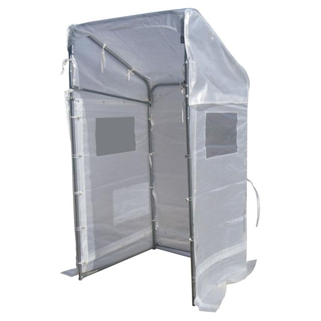 abri portique pour l 39 hiver 4 39 x 4 39 blanc r no d p t. Black Bedroom Furniture Sets. Home Design Ideas