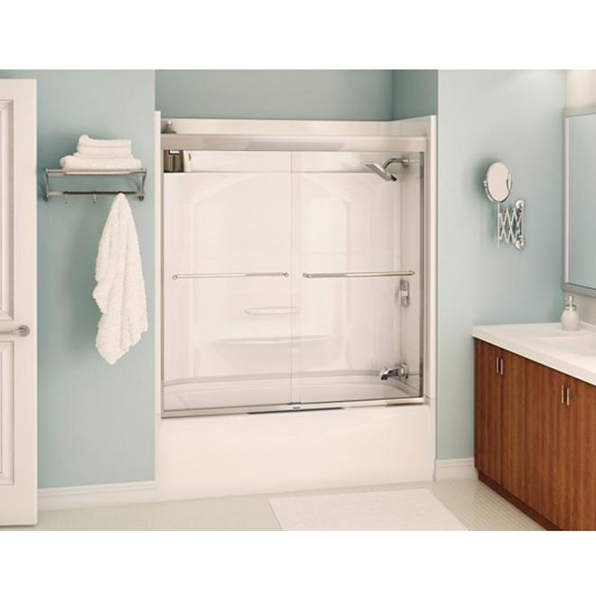 bathtubs calgary maax porte coulissante de baignoire mika. Black Bedroom Furniture Sets. Home Design Ideas