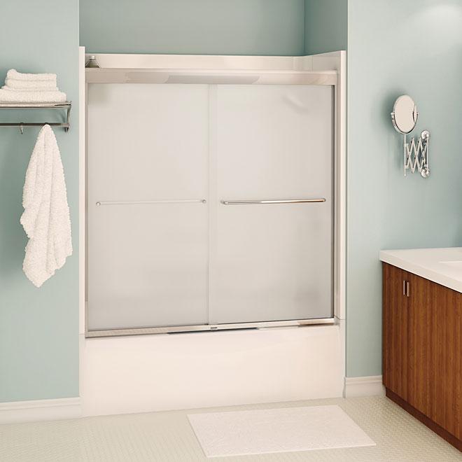 Porte pour bain douche aura r no d p t for Reno depot salle de bain
