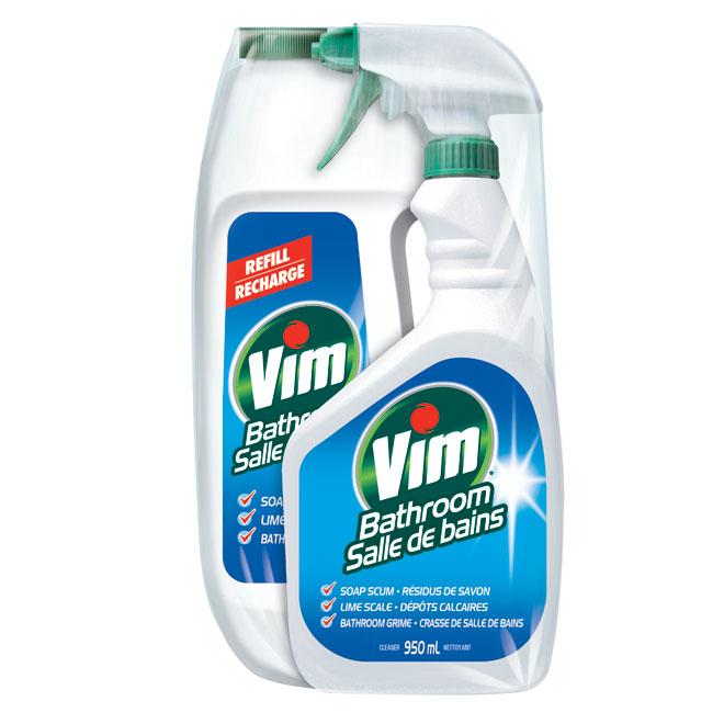 Vim nettoyant pour salle de bains vim r no d p t for Nettoyage moisissure salle de bain