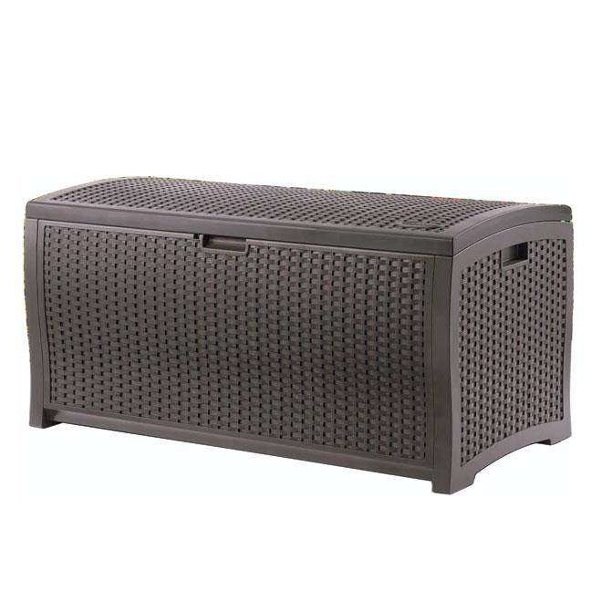 suncast bo te de rangement r no d p t. Black Bedroom Furniture Sets. Home Design Ideas