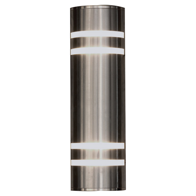 Outdoor Wall Sconce - Stainless Steel
