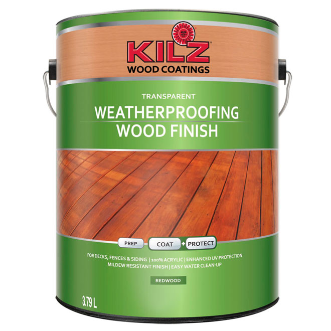 WEATHERPROOFING WOOD FINISH