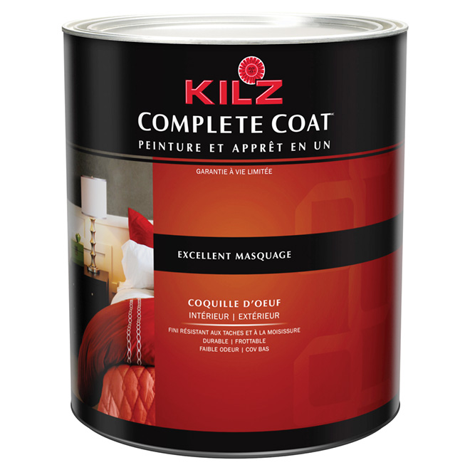 Peinture int/ext « Complete Coat », coquille d'oeuf
