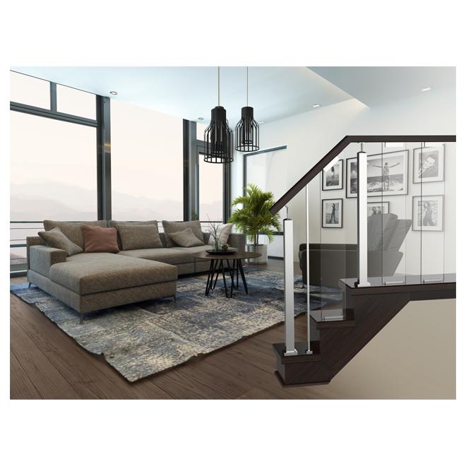 colonial elegance panneau en verre pour rampe verona. Black Bedroom Furniture Sets. Home Design Ideas