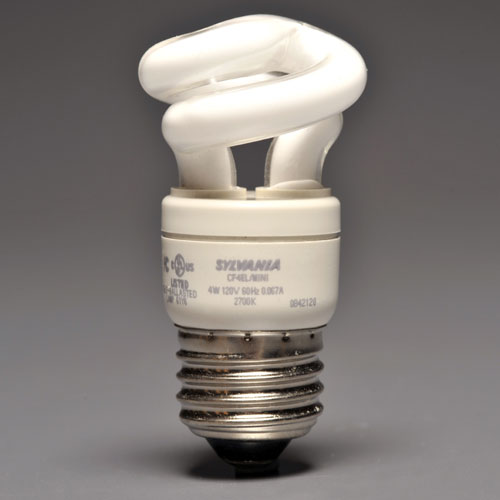 4-W COMPACT FLUORESCENT