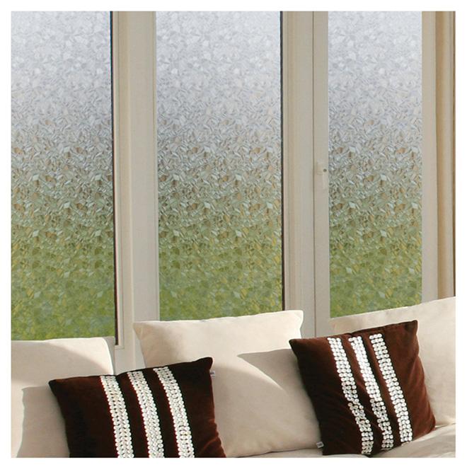 D c fix self adhesive window film splinter pattern for Professional window treatment patterns