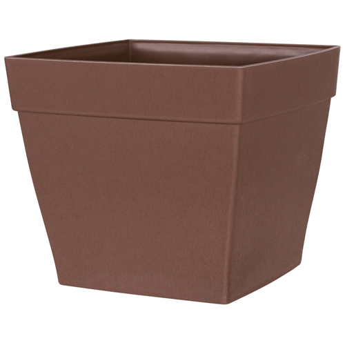 """Harmony"" Square Planter - Brown"