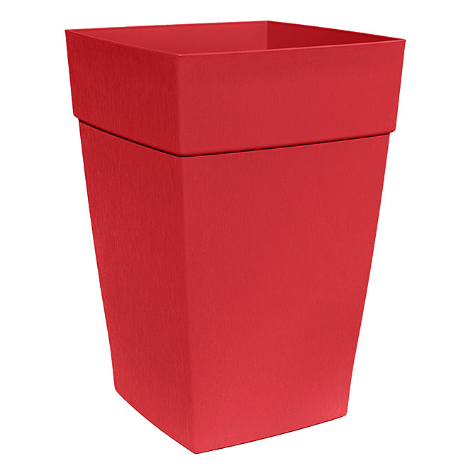 """Harmony"" Elongated Planter - Red"