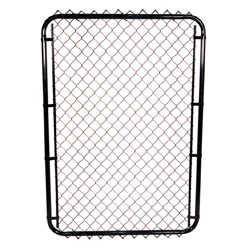"Galvanized Chain-Link Fence Gate - 60"" x 42"""
