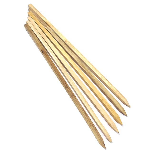 Hardwood Stakes - 2' - 6-Pack
