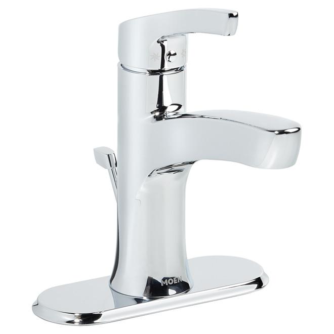 Moen robinet de salle de bains 1 poign e 4 chrome for Reno depot salle de bain