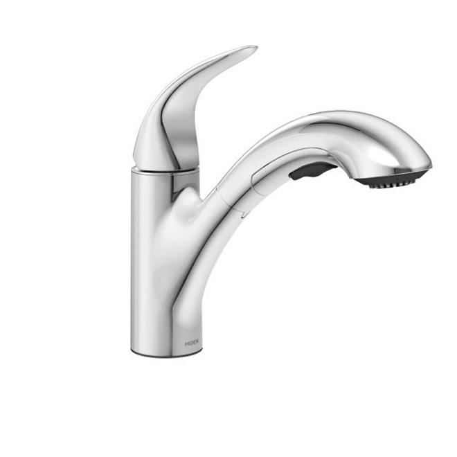 Moen robinet de cuisine medina bec r tractable chrome r no d p t - Liquidation robinet cuisine ...