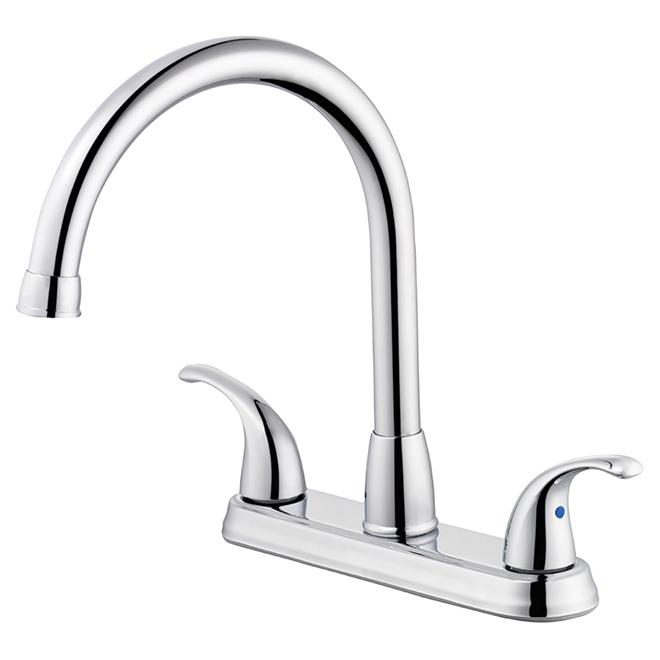 Facto robinet de cuisine 2 poign es terra r no d p t - Liquidation robinet cuisine ...