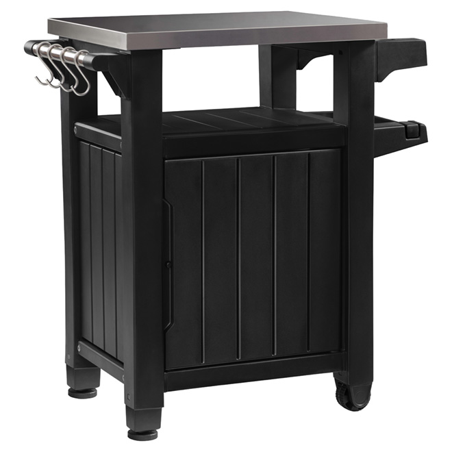 keter desserte ext rieure dessus en acier inoxydable. Black Bedroom Furniture Sets. Home Design Ideas