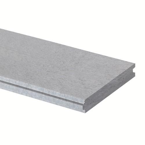 Rona eco planche embouvet e pour terrasse avantage gris r no d p t - Planche de terrasse composite ...