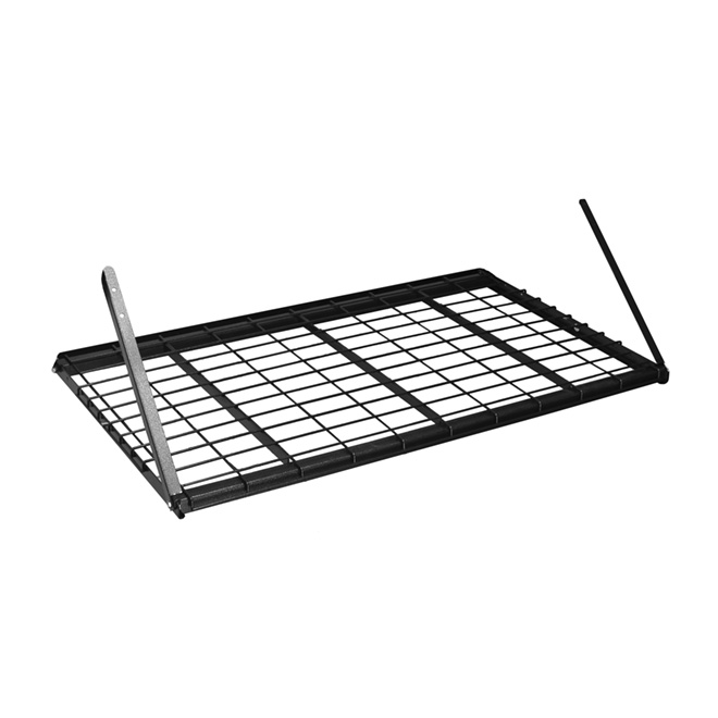 "Wire Storage Shelf 28"" x 48"" x 28"" - Charcoal"