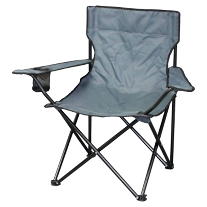 Folding Camping Chair - Grey