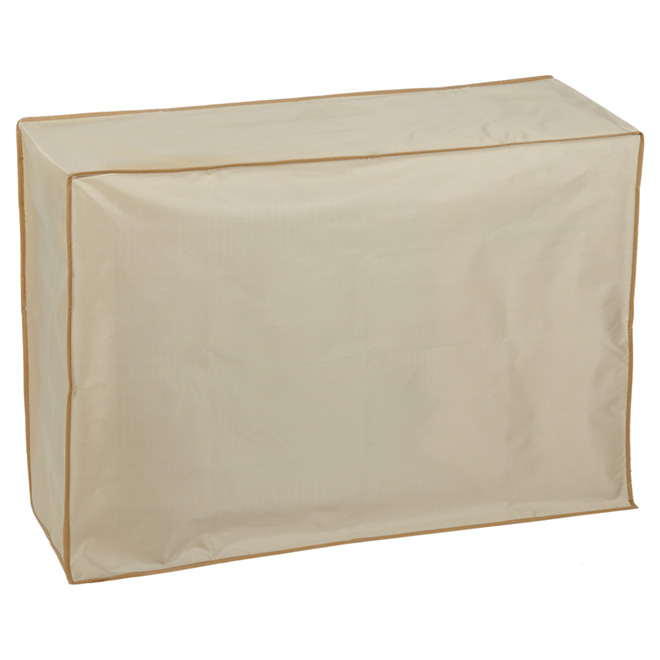 "Air Conditioner Cover - 12"" x 34"" x 24"" - Beige"