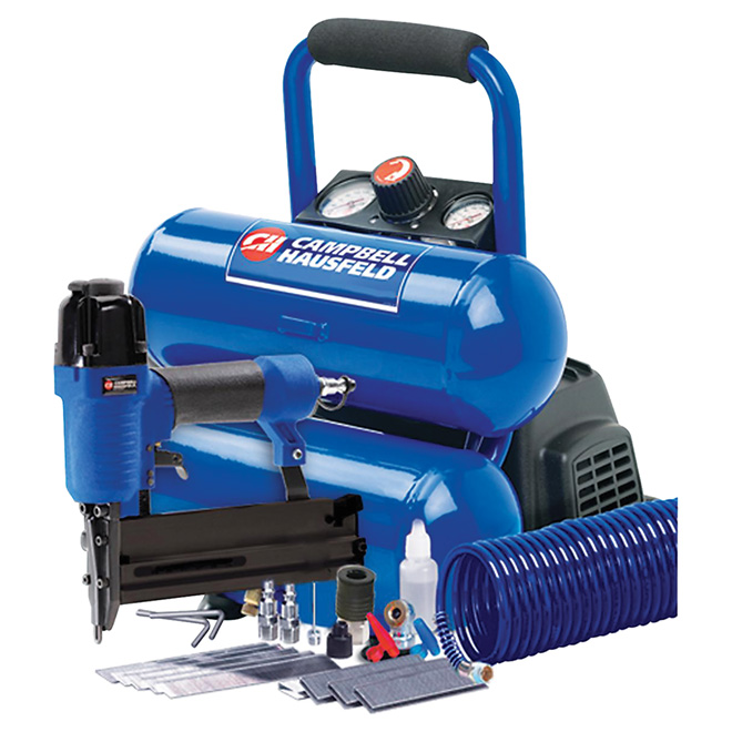 Compressor and Nailer Kit