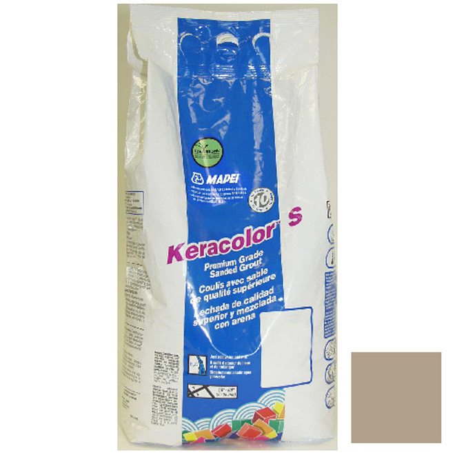 """Keracolor S"" Sanded Grout 4,53kg - Sand"