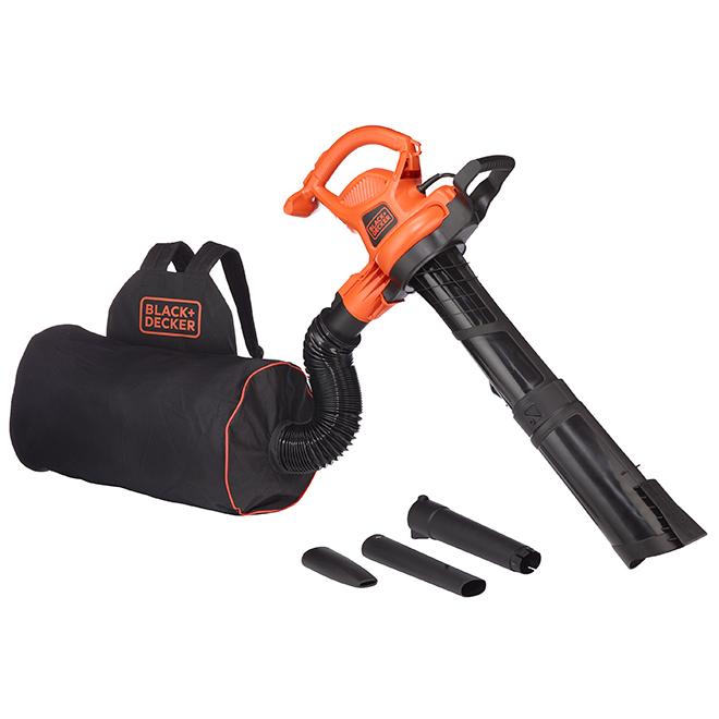 Best Leaf Blower Vacuum Mulcher : Black decker in vacpack tm leaf blower vacuum