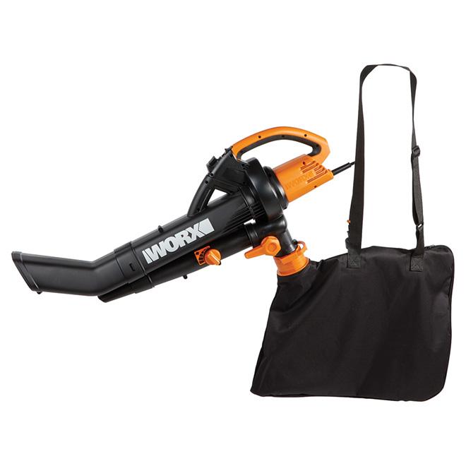 Worx Leaf Blower Vacuum Mulcher : Worx blower vacuum and mulcher in v réno dépôt