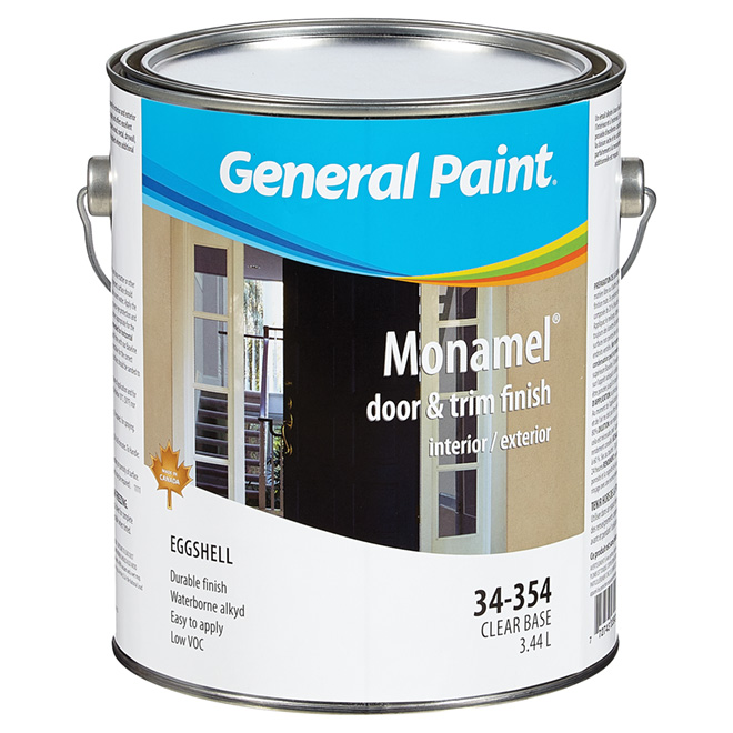Eggshell Clear Base Alkyd Paint - 3.44 L