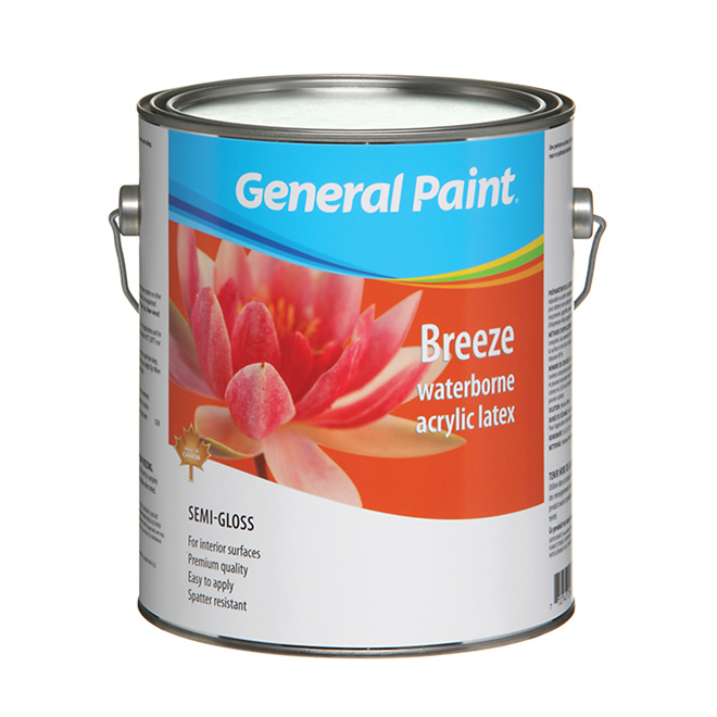 Semi-Gloss Finish Interior Latex Paint