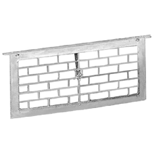 "Foundation Vent with Damper - 16"" x 8"""