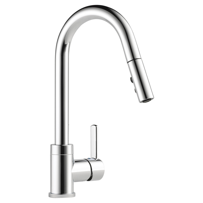 Pull-Down Kitchen Faucet - Chrome
