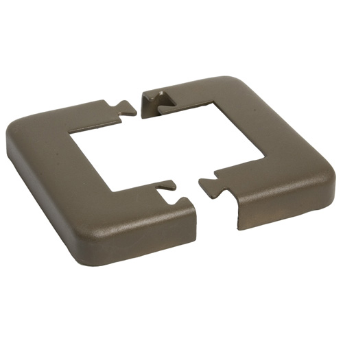 Railing Base Plate Cover - Bronze
