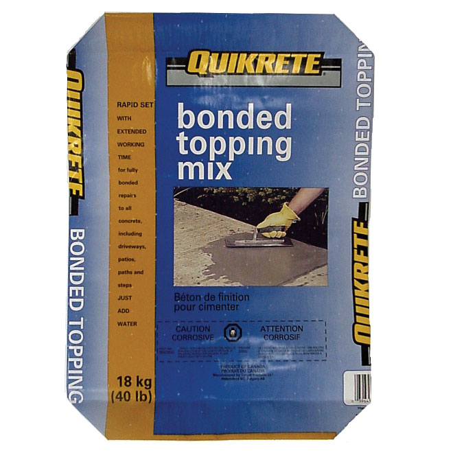 Bonded Topping Mix