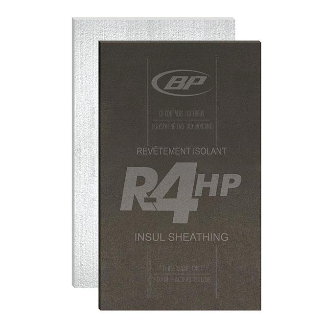 Bp canada panneau isolant haute performance r 4 4 39 x 9 for Isolant pour exterieur