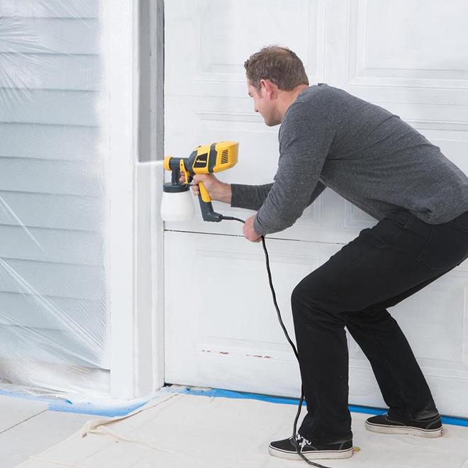 pulv risateur peinture control 250 teinture et finition r no d p t. Black Bedroom Furniture Sets. Home Design Ideas