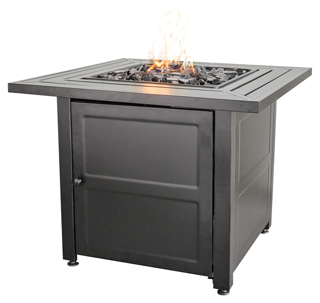 Outdoor Propane Fireplace