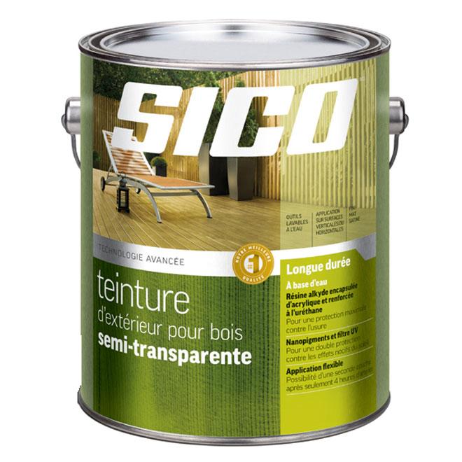 Sico teinture d 39 ext rieur pour bois r no d p t for Peinture transparente pour bois